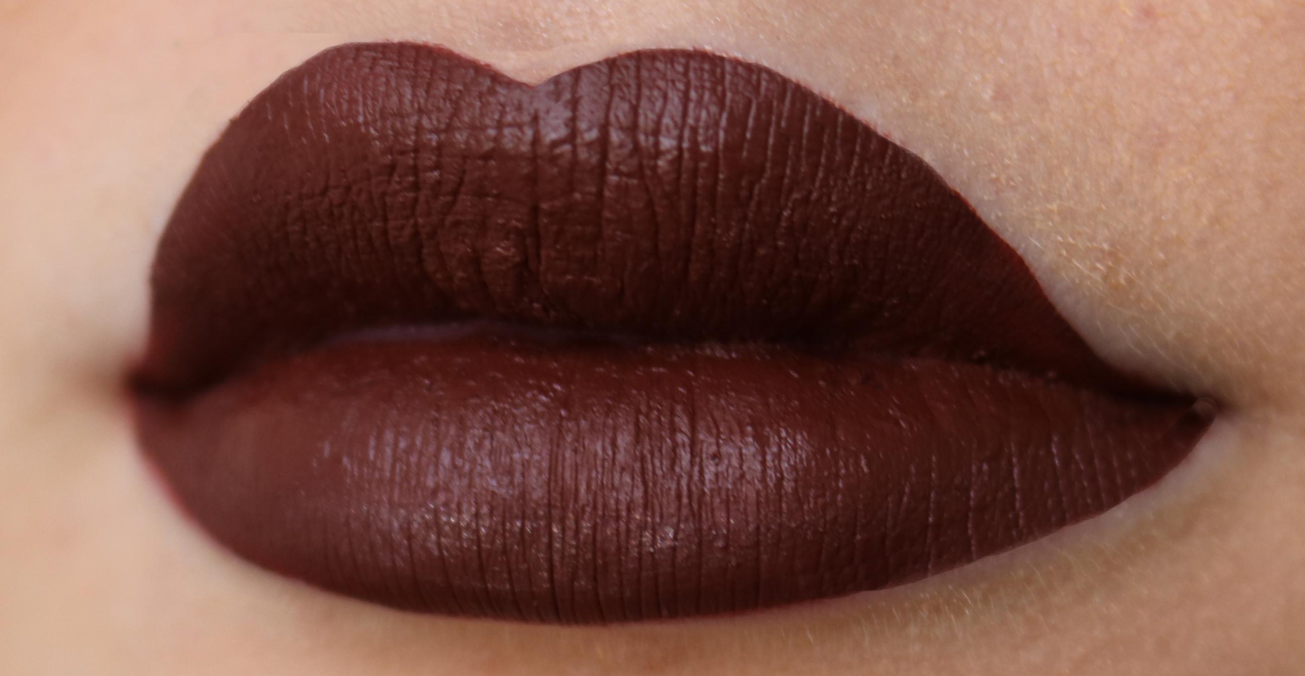 Anastasia Liquid Lipstick vamp test recension amandahans skönhetsblogg