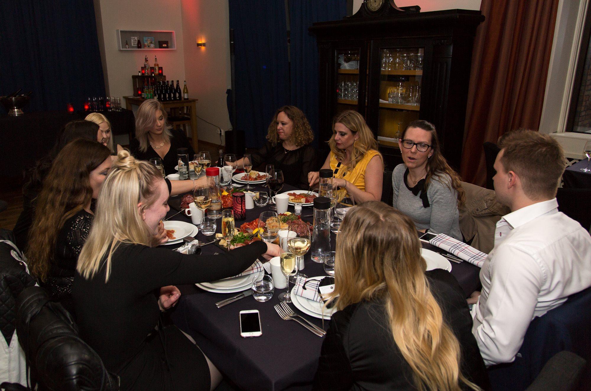 Social media mässa Malmö skönhetsblogg amandahans bankett SocialU