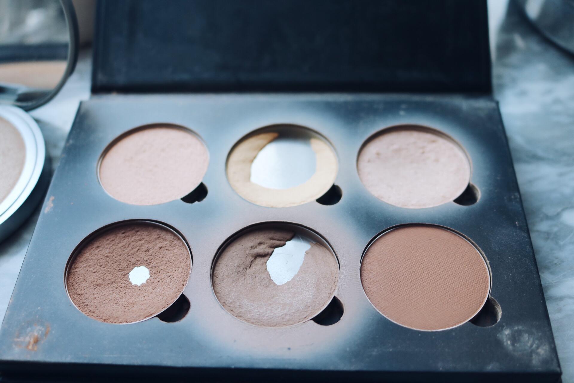 Refill färger contour kit amandahans skönhetsblogg bananapowder