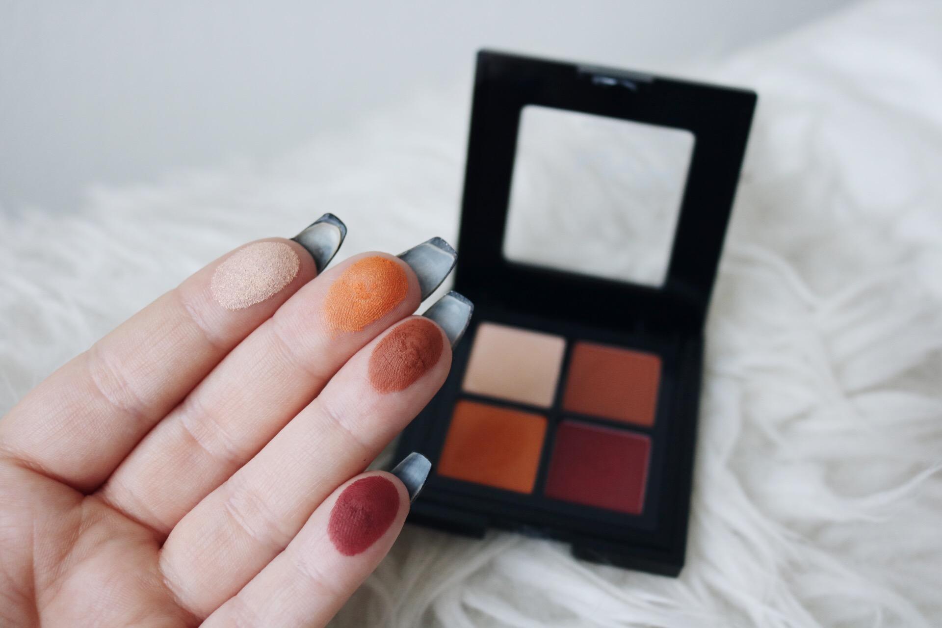 NYX full throttle ögonskuggor color riot skönhetsblogg swatches amandahans ögonskuggspalett
