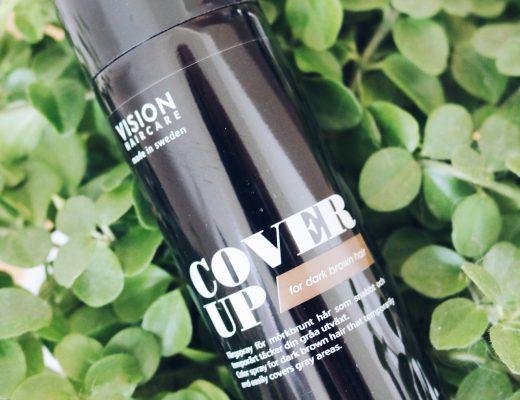 Vision haircare cover up test pressutskick skönhetsblogg amandahans skönhetsbloggare torrschampo