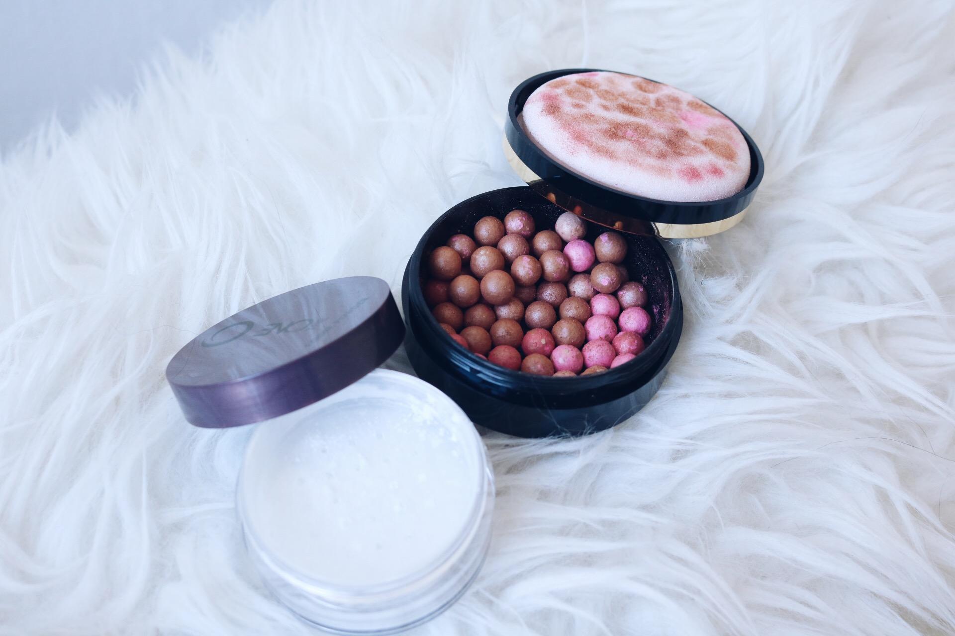 Oriflame sommarens favoriter ögonbrynsprodukt dagkräm med spf 30 mascara läppglans läppstift bronzing pearls skönhetsblogg skönhetsbloggare amandahans pressutskick