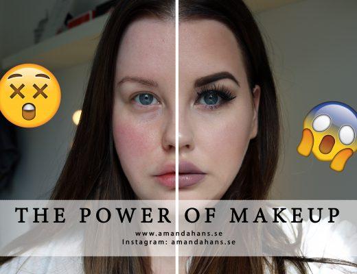 The power of makeup video tag challens skönhetsblogg skönhetsbloggare amandahans youtube youtuber tips sminkning youtubechallenge