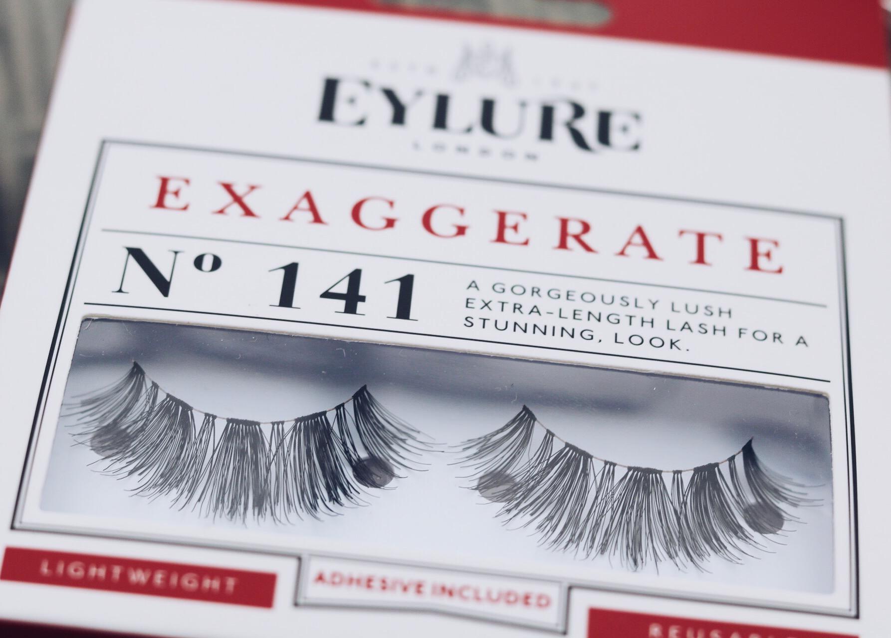 Lösögonfransar från Eylure nr 141 amandahans skönhetsblogg skönhetsbloggare tips långa fransar ögonfransar ardell nelly.com