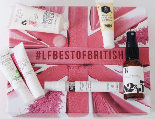 Lookfantastic beauty box LFBestOfBritish, amandahans, skönhetsblogg, skönhetsbloggare, skönhetsbox, prenumerationstjänst, glossybox, smink, tips, inspiration