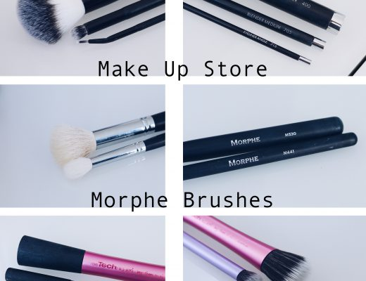 Mina absoluta favoriter bland sminkhorstar MUS Make up store Morphe Real Techniques djurtester cruelty free CF amandahans skönhetsblogg skönhetsbloggare