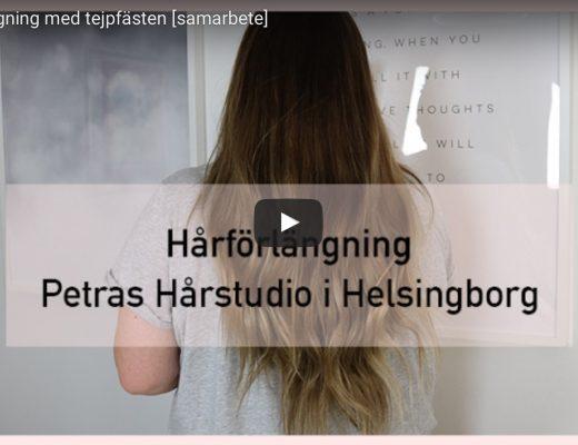 Hårförlängning med tejp, Petras Hårstudio, Amandahans, Skönhetsblogg, skönhetsbloggare, hårförlängning,