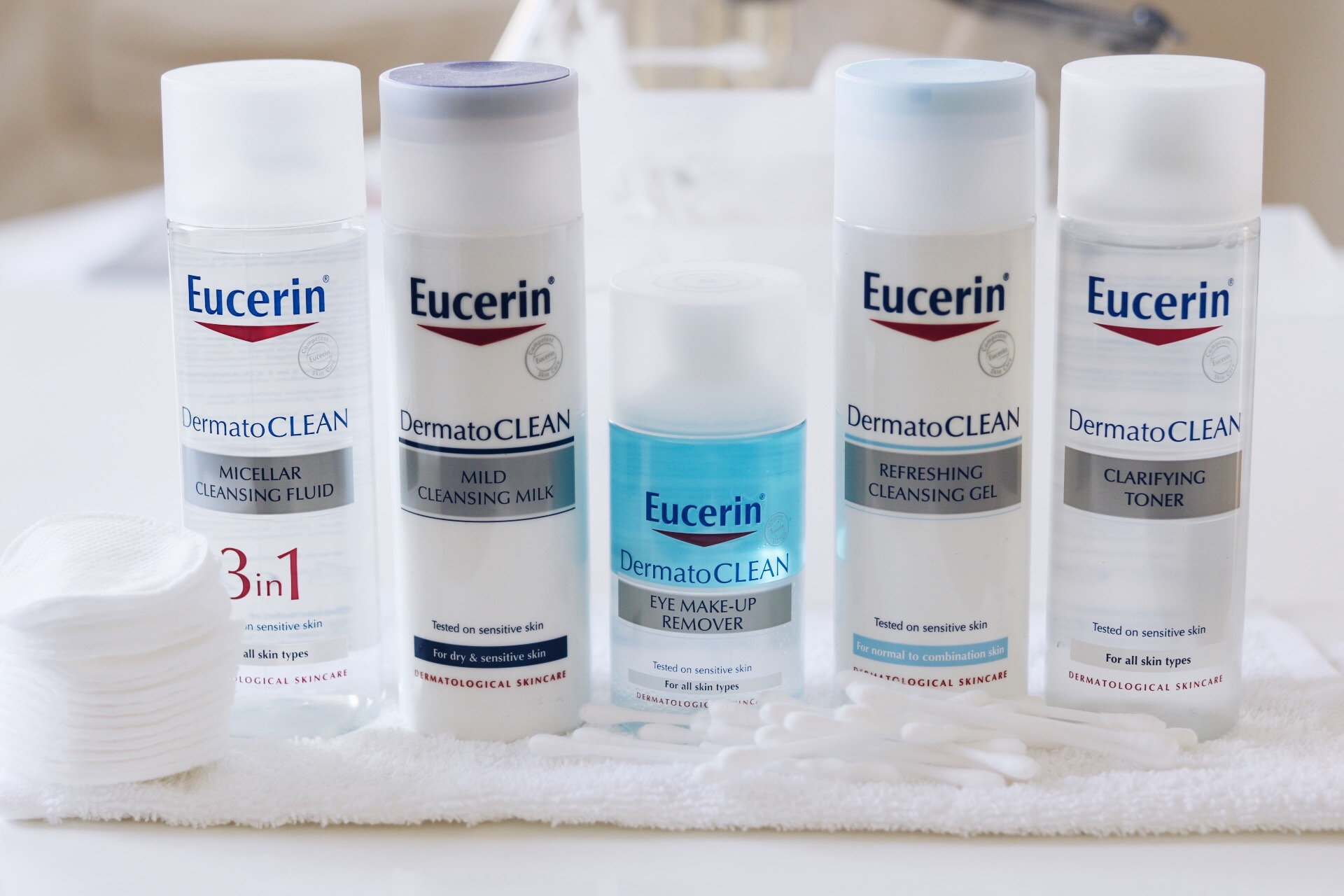 Eucerin DermatoCLEAN rengöringsserie, verktygslåda, amandahans, pressutskick, prsample, eucerin, micellärvatten, micellar water, rengöring, finare hud, ansiktsrengöring, hudvård, tips, amandahans skönhetsblogg, skönhetsbloggare