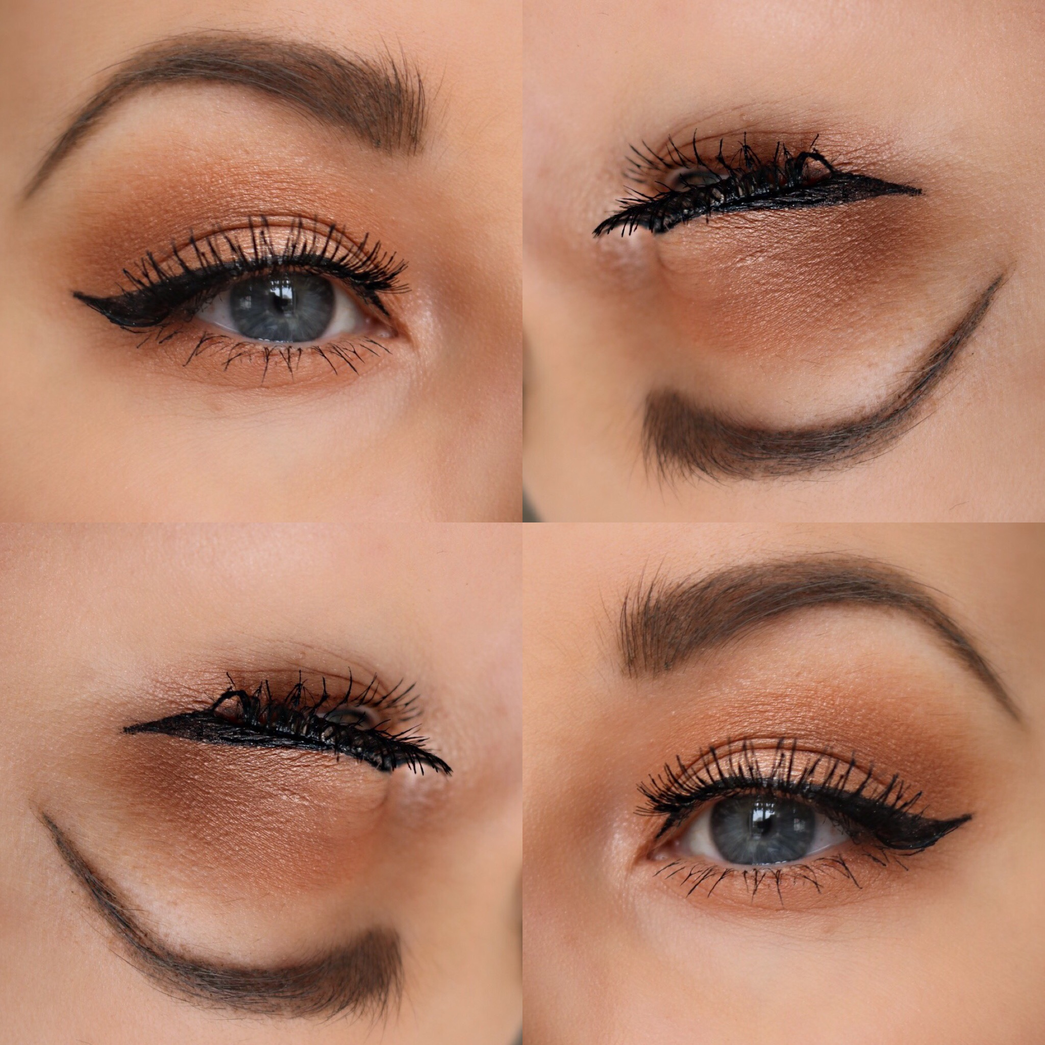 Orange smokey sotning med Anastasia Beverly Hills Self made palett