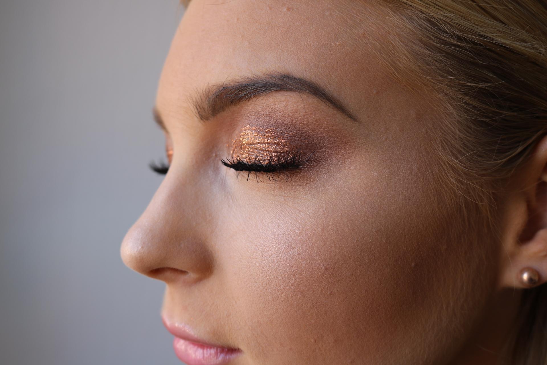 Sofia Börjesson golden bronze sminkning amandahans.se skönhetsblogg
