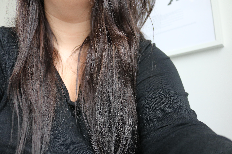 Hårinpackning för torrt hår amandahans skönhetsblogg rädda torrt skadat hår