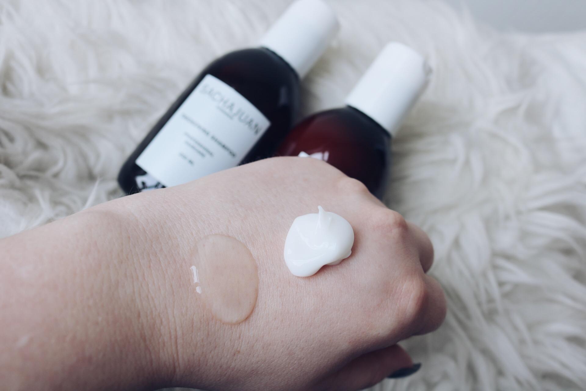 SACHAJUAN thickening shampoo balsam skönhetsblogg Scandinavian Cosmetics amandahans