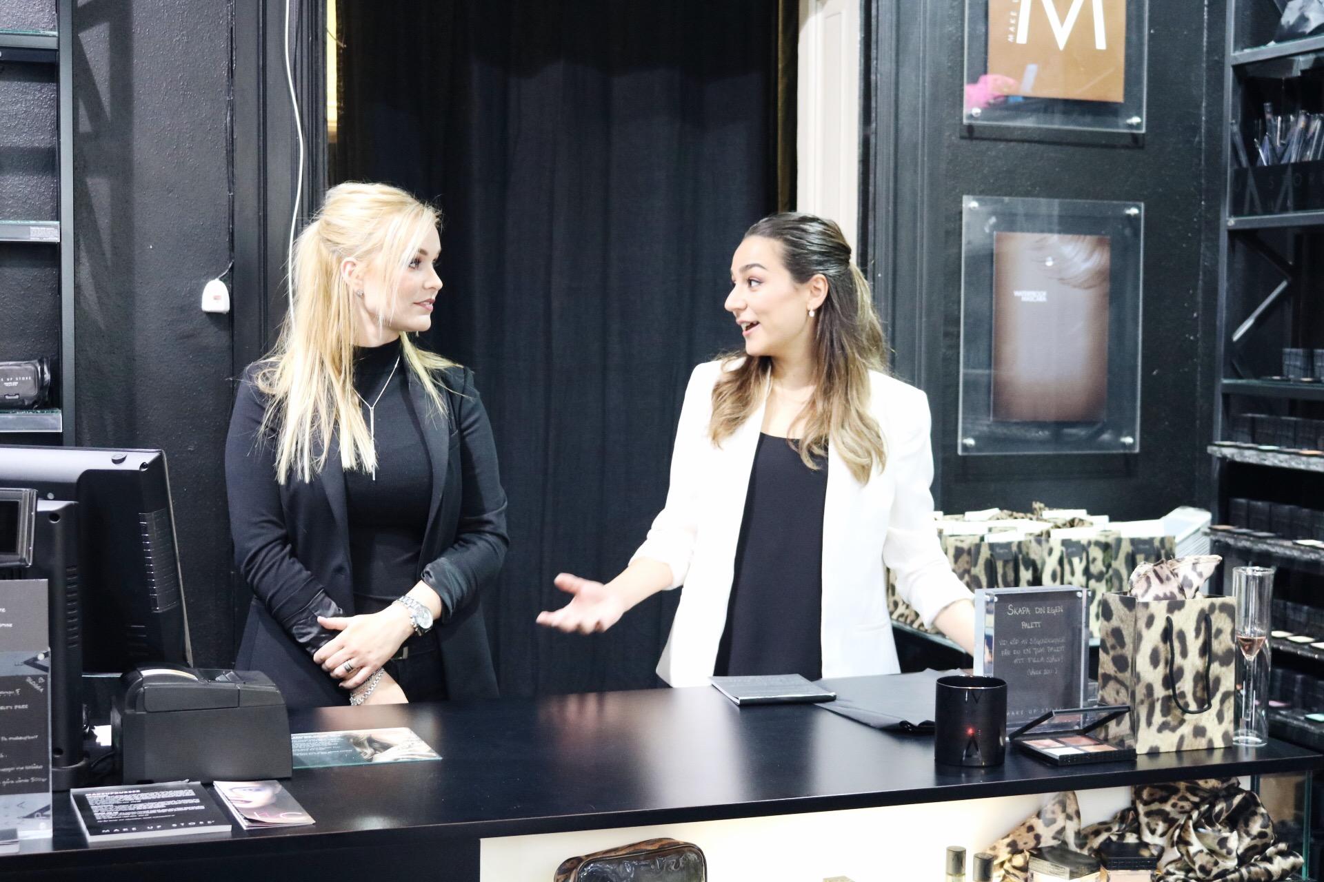 Make up Store Malmö event skönhetsblogg amandahans