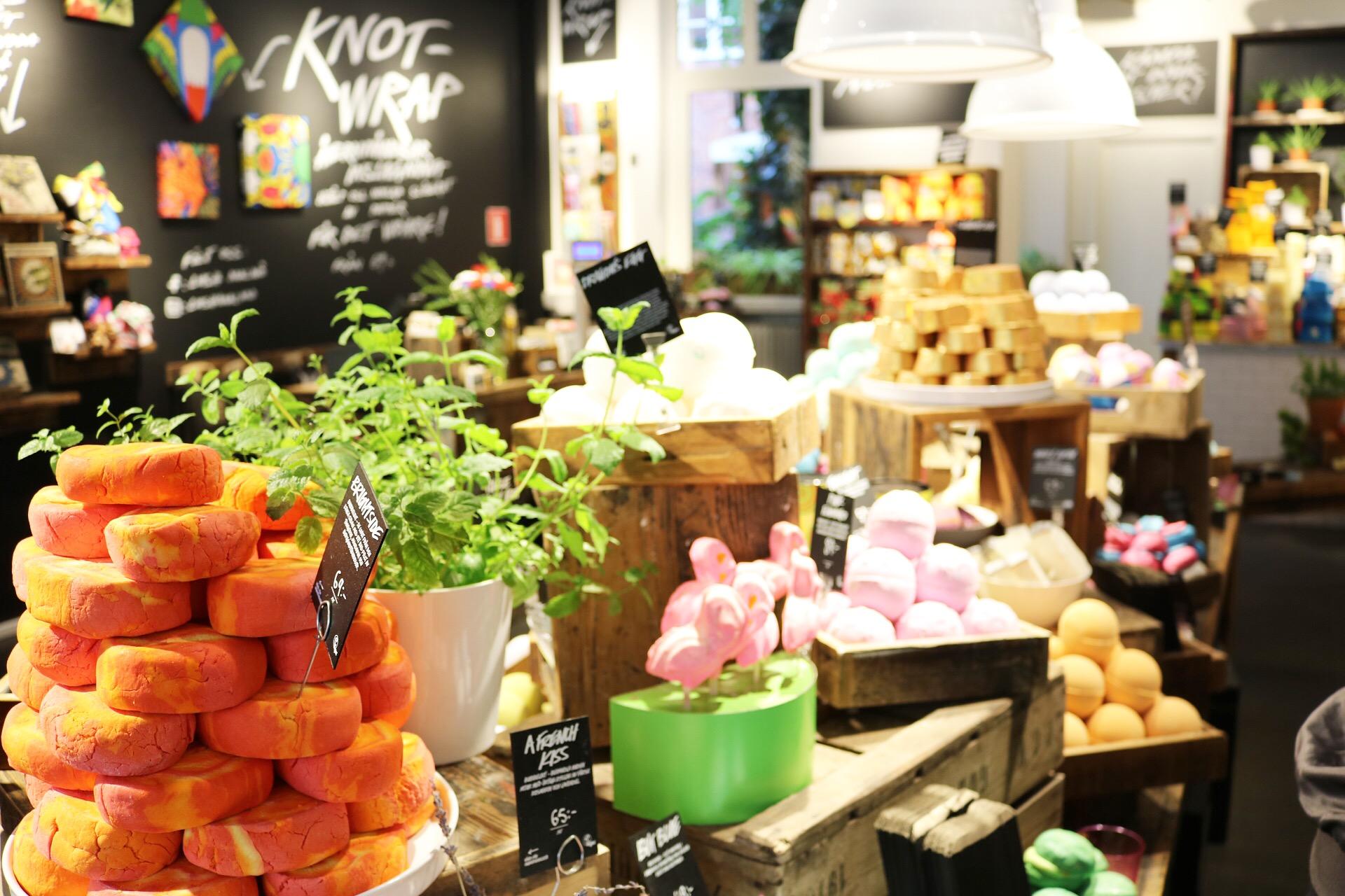 Lush Malmö bloggevent skönhetsblogg amandahans