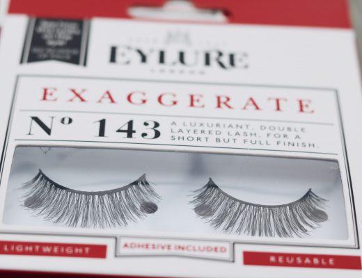 Lösögonfransar från Eylure nr 141 nr 143 amandahans skönhetsblogg skönhetsbloggare tips långa fransar ögonfransar ardell nelly.com