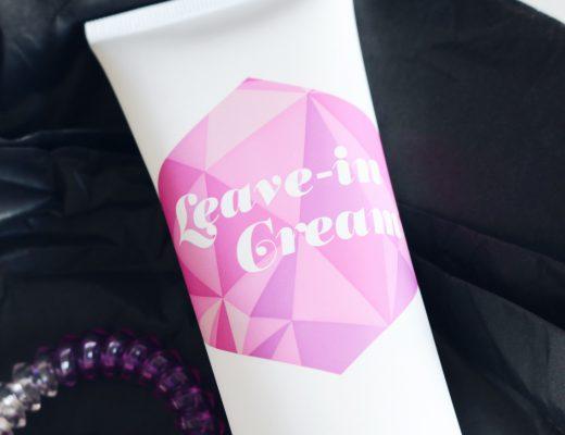 Rapunzel of Sweden Leave-in Cream, amandahans, skönhetsblogg, pressutskick, skönhetsbloggare, landskrona, rapunzel of sweden, hårvård, tips mot slitet hår, värmeskydd, tips,