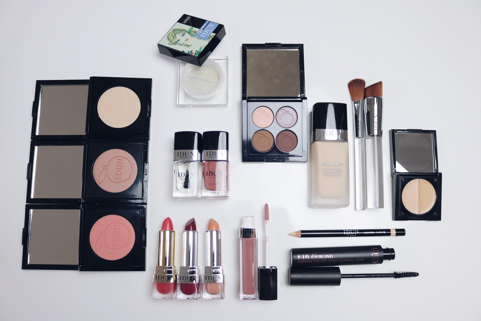 Daisy Beauty London 2016 Dag 2 Idun arbetsprover pressprover amandahans skönhetsblogg, daisy beauty, idun minerals, mineralsmink, bra smink för allergiker, vegan smink, cruelty free,