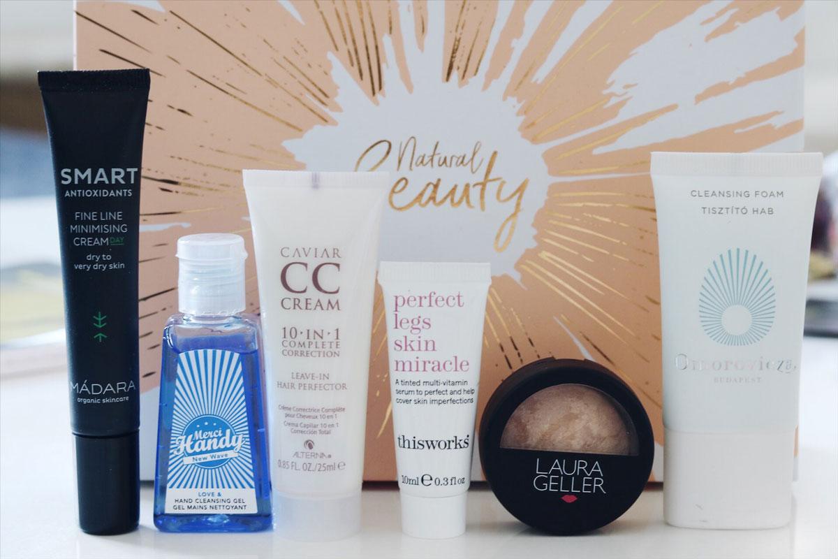 Lookfantastic Natural Beauty, Lookfantastic beauty box, prenumerationsbox, tips, skönhetsbox, boxar, glossy box, amandahans, skönhetsblogg, skönhet