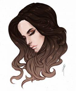 Porträtt amandahans, skönhetsblogg, skönhetsbloggare