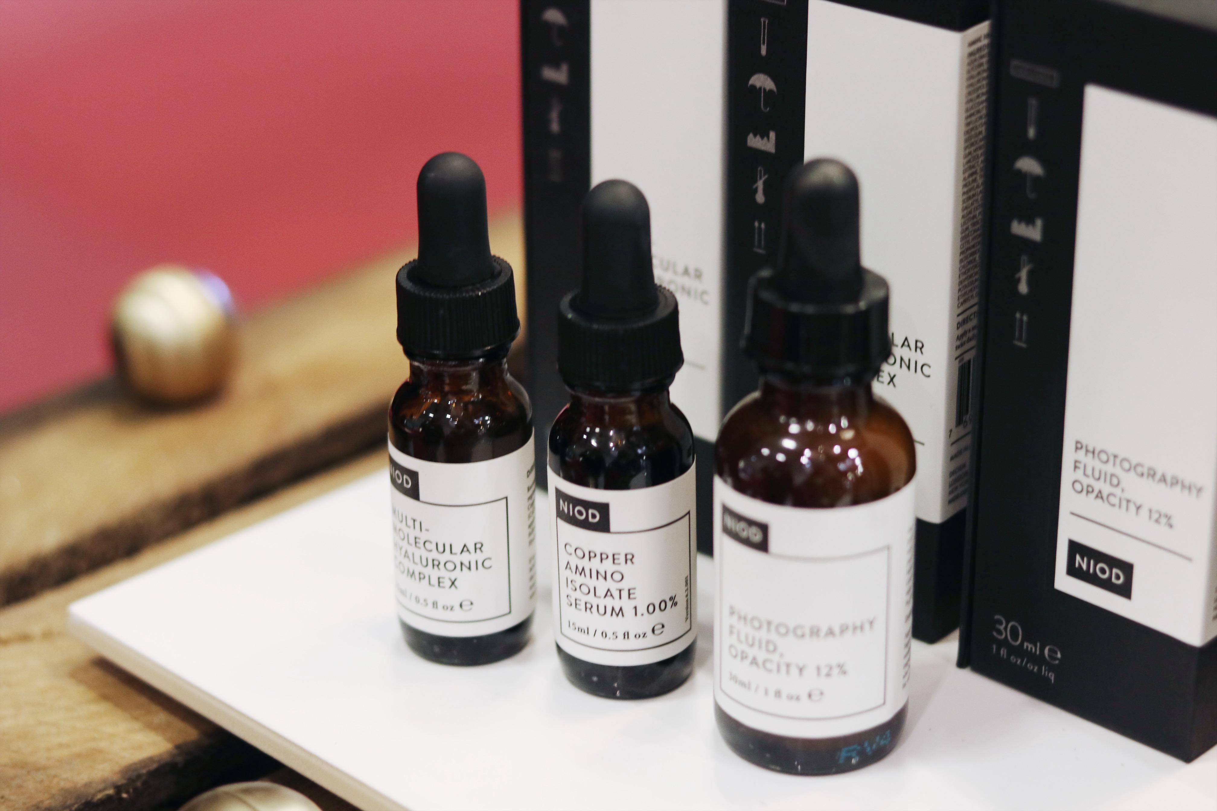 Hud och Kosmetikmässan del 2, Niod, The Ordinary, Deciem lanseras i Sverige, The Ordinary i Sverige, amandahans, skönhetsblogg