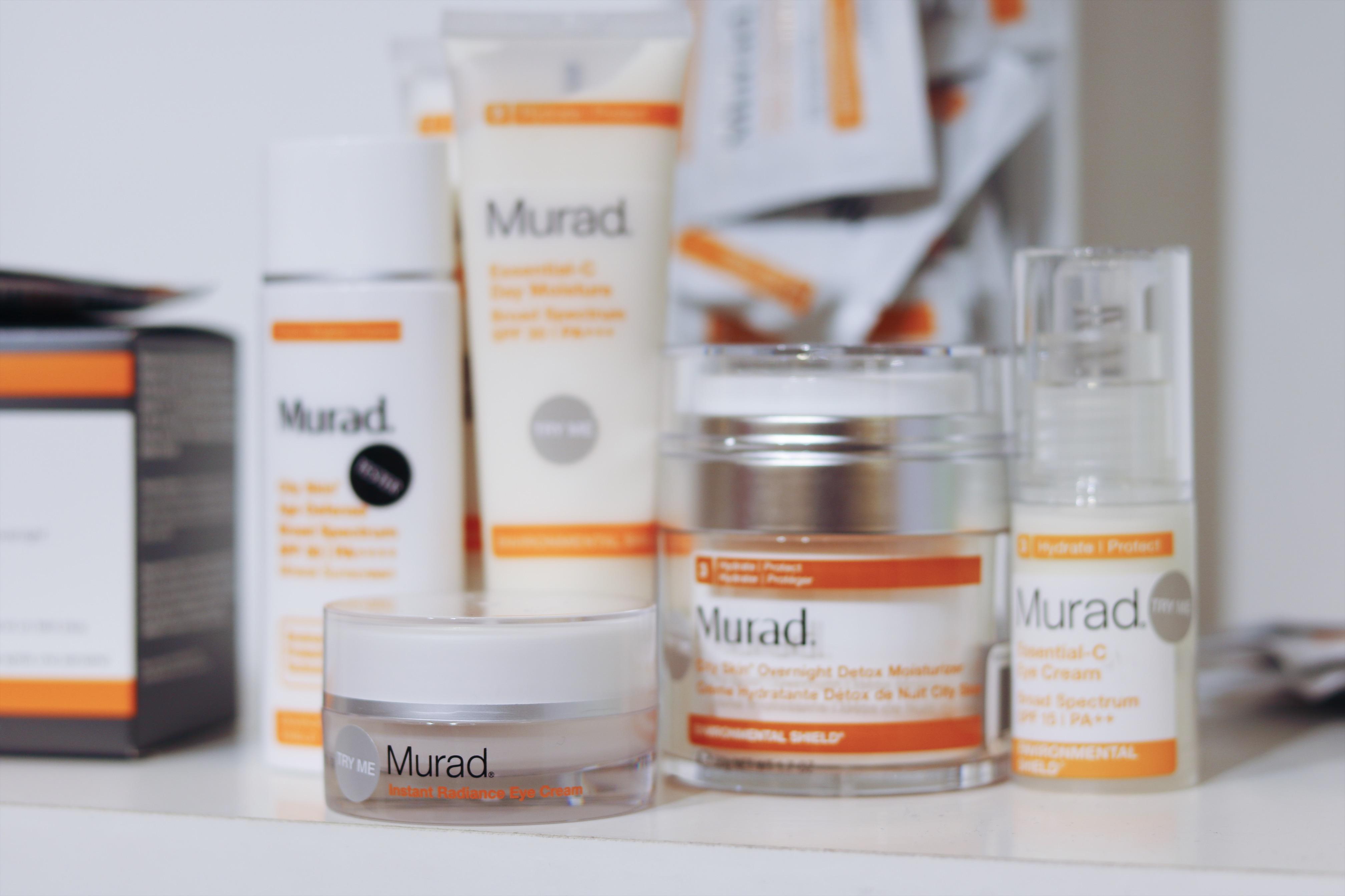 Hud och Kosmetikmässan del 2 Murad, Skincare, hudvård, Murad hudvård, C vitamin, serum, dagkräm, ögonkräm murad, hydro-glow aqua peel, nyheter, amandahans, skönhetsblogg
