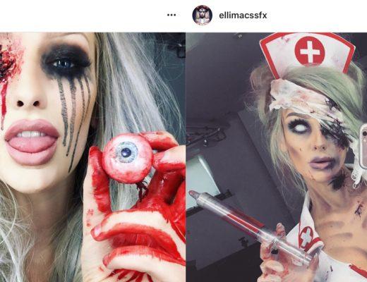 Ellimacssfx, Ellinore Rosander, halloweensminkning, SFX, maskeradkläder, maskerad, halloween, skönhetsblogg, amandahans