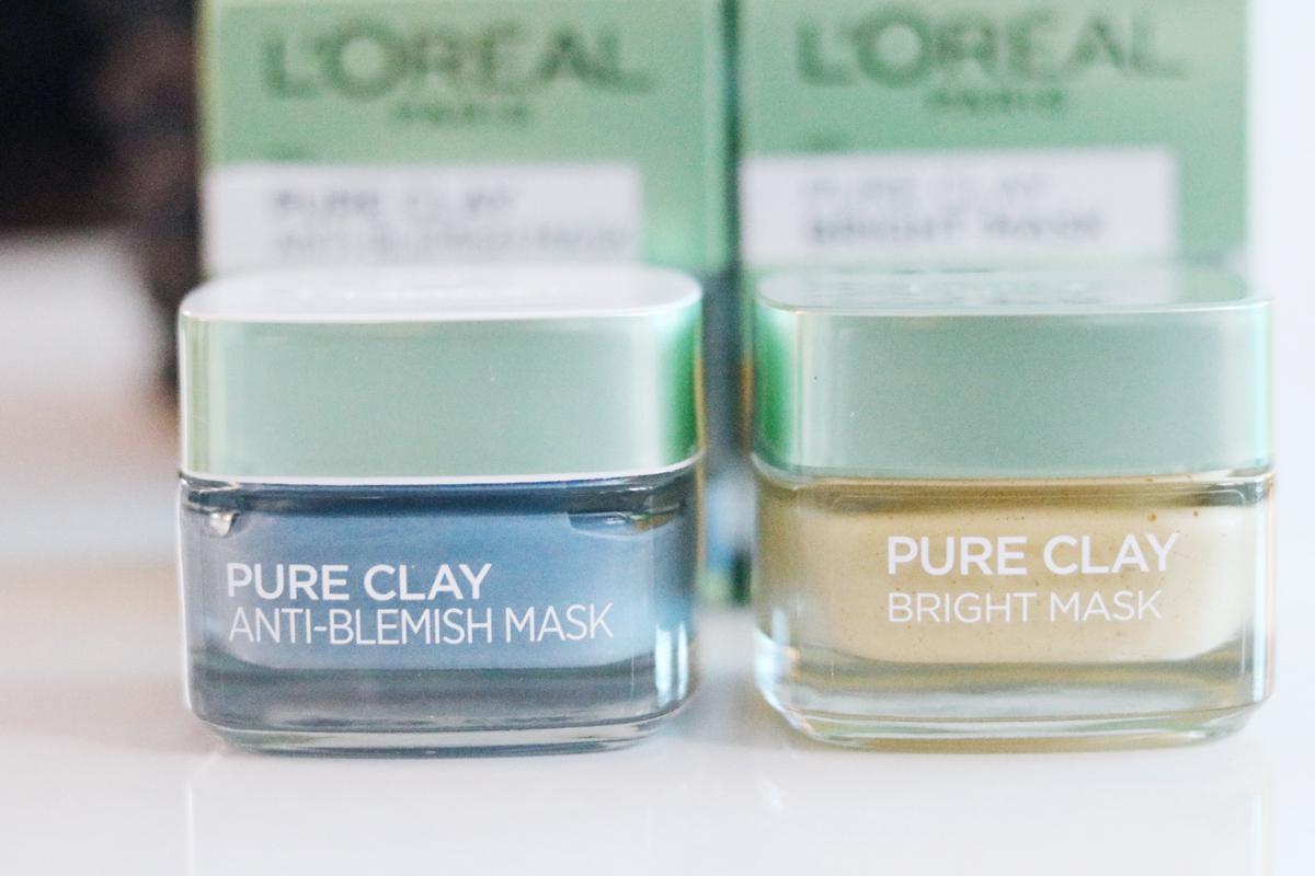 Lermask, L´Oréal Pure Clay, nyheter, julklappstips, skönhet, ansiktsmask, ansiktsmasker, lermasker, jämnare hud, mindre porer, rengörande mask, pressutskick, skönhetsblogg, amandahans