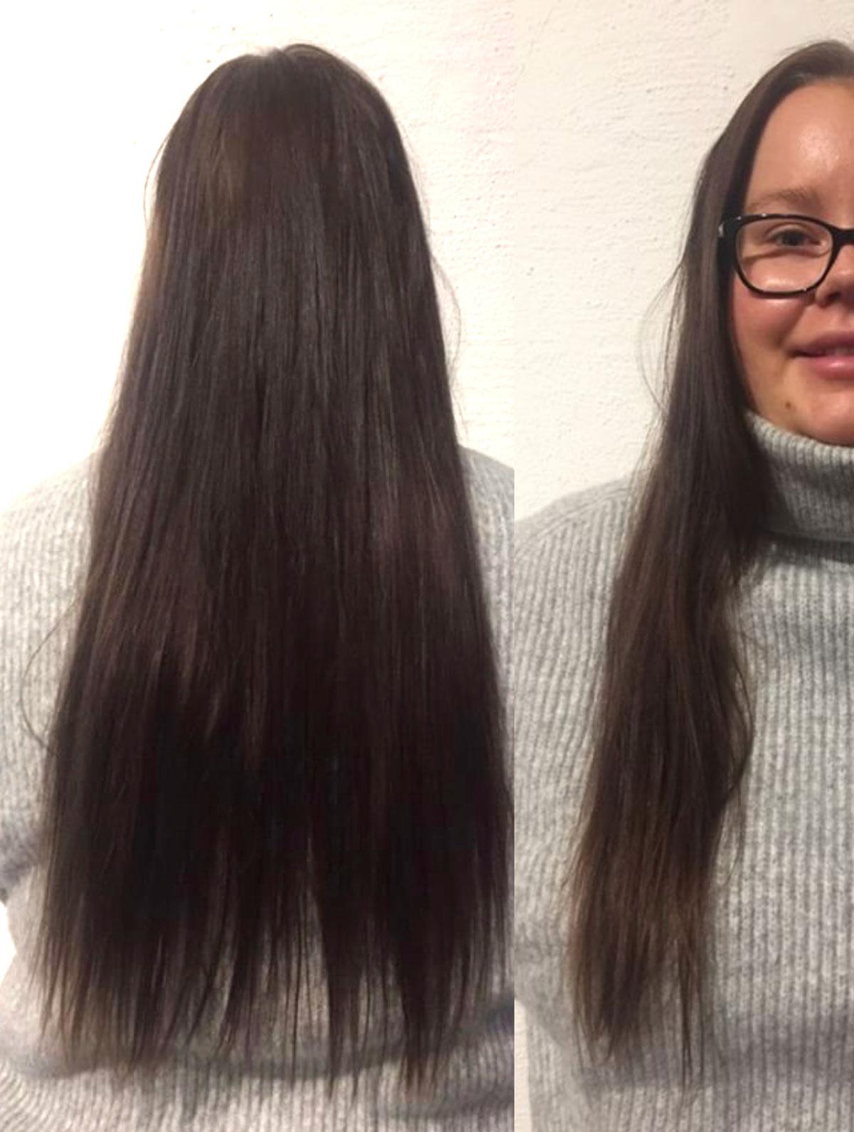 Förebild, Davines, Davines Sverige, Malmö, Frisör, Inpackning, Hårmodell, Amandahans, Skönhetsblogg, Kort brunt hår