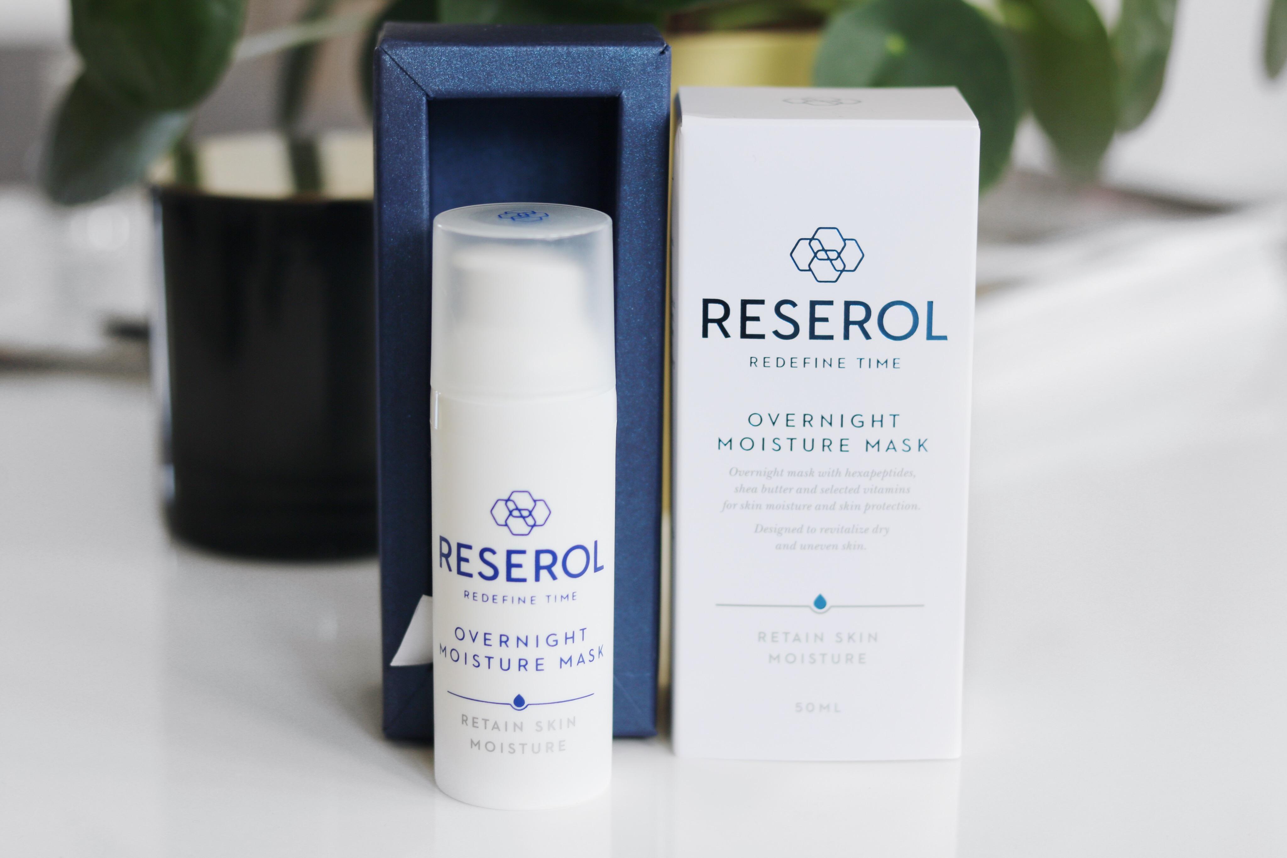 Reserol, Reserol Beauty, Amandahans, Skönhetsblogg, Skönhetsbloggare, Reserol films, Reserol Overnight Moisture Mask